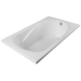"ProFlo PFS6036A 60"" X 36"" Drop-In or Alcove Soaking Bathtub - EasyCare Acrylic"