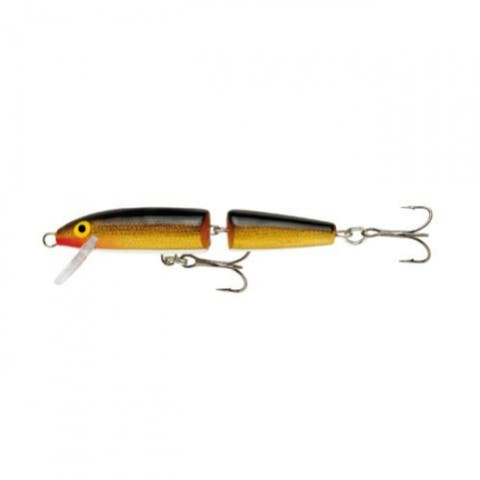 Rapala 0140-2176 Floating Jointed Minnow Lure, Gold, 2-3/4""