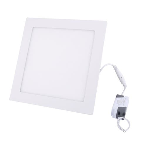 Warm White 18W Square Bedroom LED Recessed Ceiling Panel Down Light AC85-265V