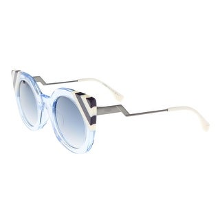 Fendi FF 0240/S 0MVU Waves Azure Eyewear Sunglasses - 47-26-140