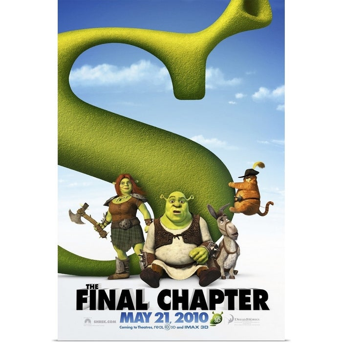 Shop Black Friday Deals On Shrek Forever After 2010 Poster Print Overstock 24129753