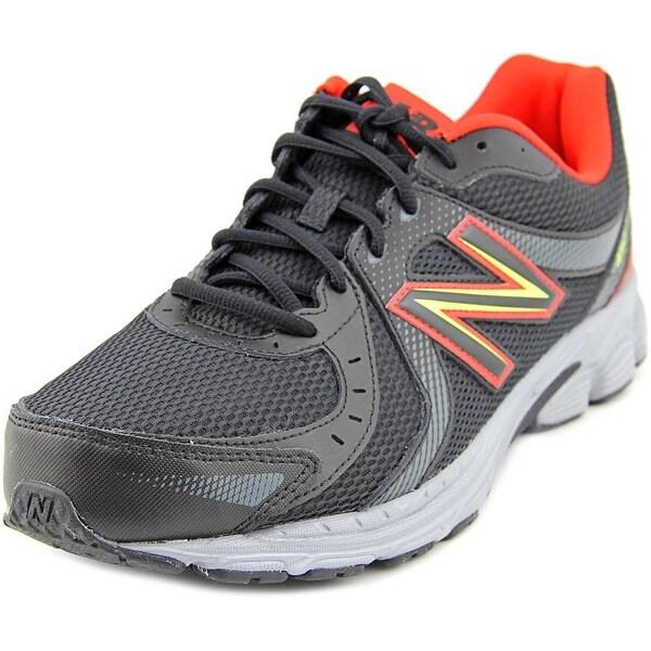 New Balance M450 Men Round Toe Synthetic Black Running Shoe