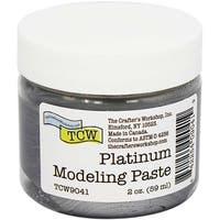 Platinum - Crafter's Workshop Modeling Paste 2Oz