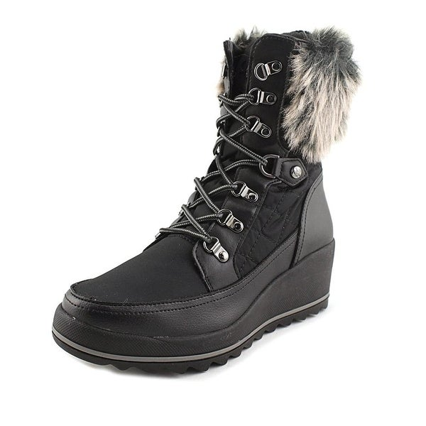 GUESS Womens Leland Round Toe Mid-Calf Cold Weather Boots
