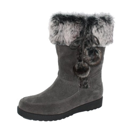 White Mountain Womens FOREST Closed Toe Mid-Calf Cold Weather Boots