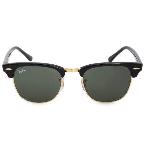 358c1b02db586 Ray-Ban Clubmaster Sunglasses RB3016 W0365E 49