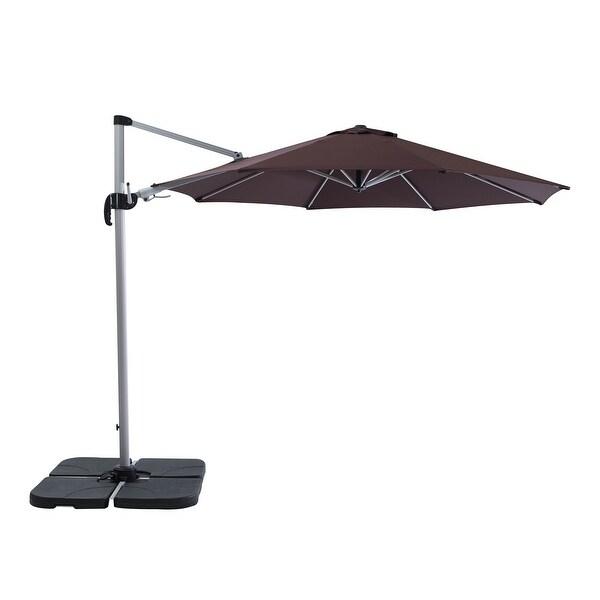 Creekside 10' Heavy Duty Cantilever Patio Umbrella. Opens flyout.