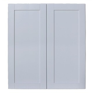 "Sunny Wood SHW3642-A Shaker Hill 36"" x 42"" Double Door Wall Cabinet - designer white - N/A"
