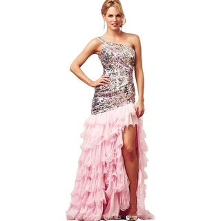 Mac Duggal Womens Formal Dress Sequined Ruffled (More options available)