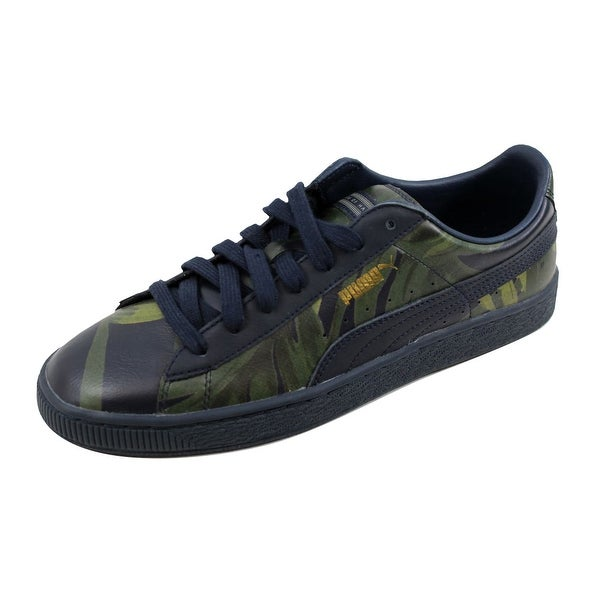 Puma Men's Basket X HOH Palm Total Eclipse/Green 358470 01
