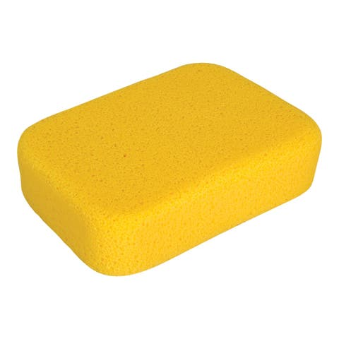 QEP 70005Q-6D Heavy Duty All-Purpose Sponge, Extra Large, 6-Pack
