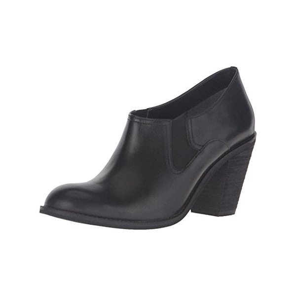 SoftWalk Womens Fargo Shooties Leather Heels