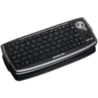 IOGEAR GKM681R 2.4GHz Wireless Compact Keyboard w/ Optical Trackball & Scroll Wheel