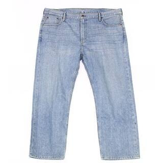 Levi's NEW Blue Mens Size 42X30 569 Loose Five-Pocket Straight Leg Jeans|https://ak1.ostkcdn.com/images/products/is/images/direct/d9f7bf17a820292c15527e9fe9be1df9cdd12188/Levi%27s-NEW-Blue-Mens-Size-42X30-569-Loose-Five-Pocket-Straight-Leg-Jeans.jpg?impolicy=medium