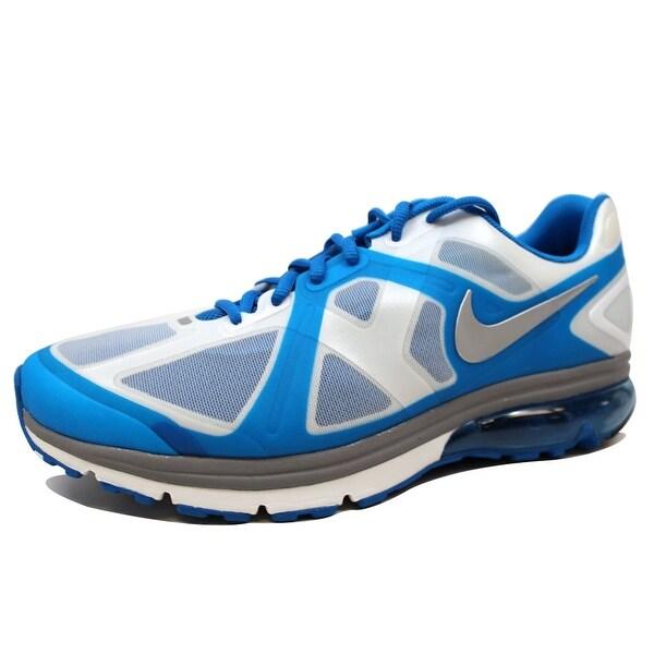 Nike Men's Air Max Excellerate + Soar/Metallic Silver-Summit White 487975-401