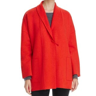 Eileen Fisher NEW Red Womens Size Large L Shawl Collar Flyaway Jacket|https://ak1.ostkcdn.com/images/products/is/images/direct/d9f8483e0ffc459670fe2c24d6695e0e2d6e8271/Eileen-Fisher-NEW-Red-Womens-Size-Large-L-Shawl-Collar-Flyaway-Jacket.jpg?impolicy=medium