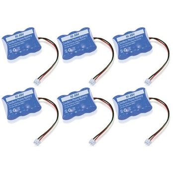 New Replacement Battery 2422 For NORTHWESTERN BELL Cordless Phones ( 6 Pack )