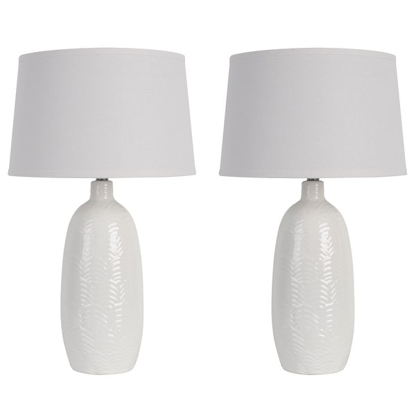 Sabrina Scale Ceramic Table Lamp - Set of 2. Opens flyout.