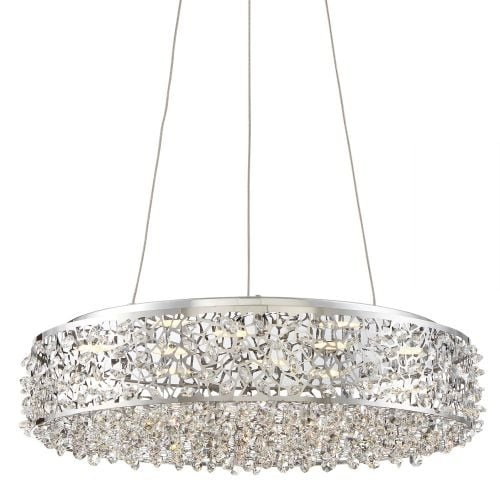 "Platinum PCST1818 Starlet LED 18"" Wide Pendant with Clear Glass"