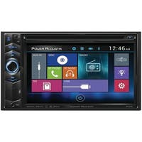"Power Acoustik Pd-624B 6.2"" Double-Din In-Dash Lcd Touchscreen Dvd Receiver With Bluetooth(R)"