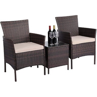 Link to 3-piece Patio Bistro Outdoor Furniture Set by Havenside Home Similar Items in Patio Furniture
