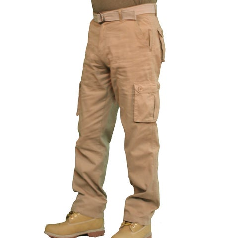 Outback Rider Men's Solid Twill Cargo Pant