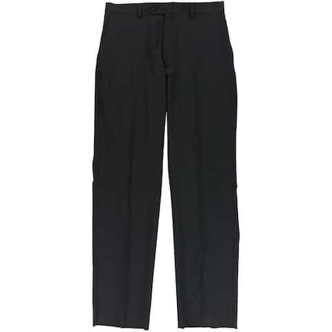 Jones New York Mens Mini Stripe Dress Pants Slacks, Black, 33.5W x 36L - 33.5W x 36L