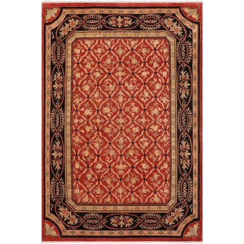 """Boho Chic Ziegler Larry Hand Knotted Area Rug -8'10"""" x 11'4"""" - 8 ft. 10 in. X 11 ft. 4 in."""
