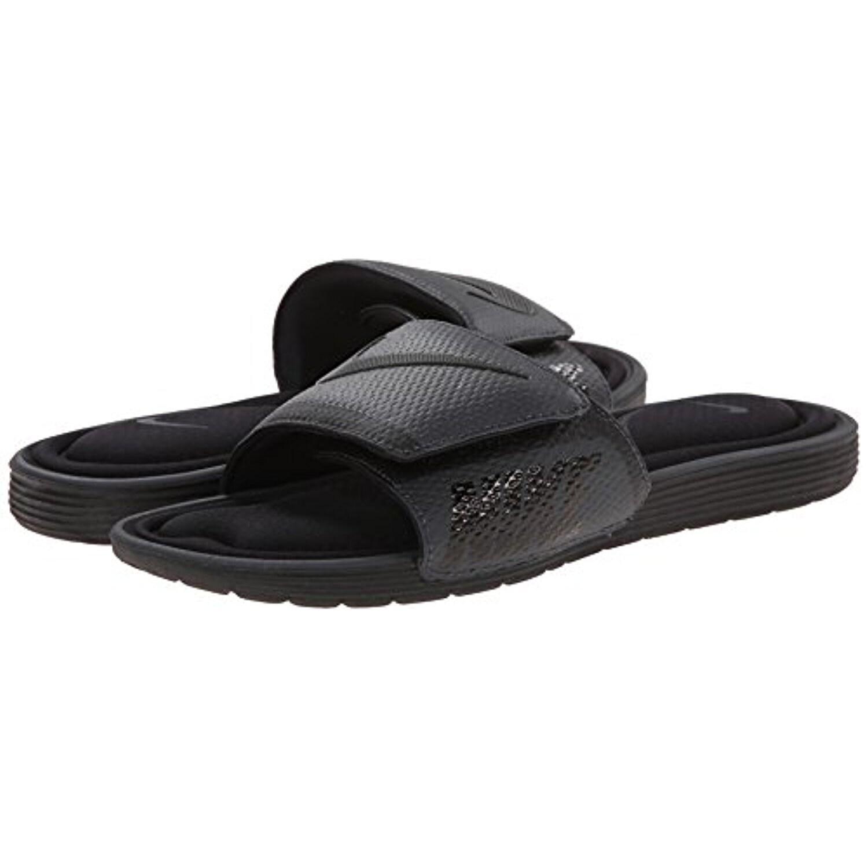 Nike Men's Solarsoft Comfort Slide Sandal, Black/Anthracite