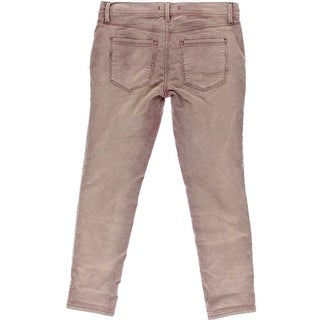 Free People Womens Corduroy Stretch Cropped Pants