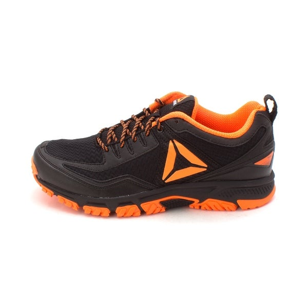 Shop Reebok Mens Ridgerider Fabric Low Top Lace Up Trail Running