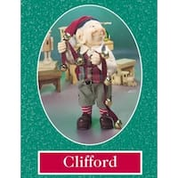 "10.5"" Zims The Elves Themselves Clifford Collectible Christmas Elf Figure"