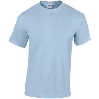 DDI Gildan T-Shirt Style 5000 Light Blue - Size Large Case of 12