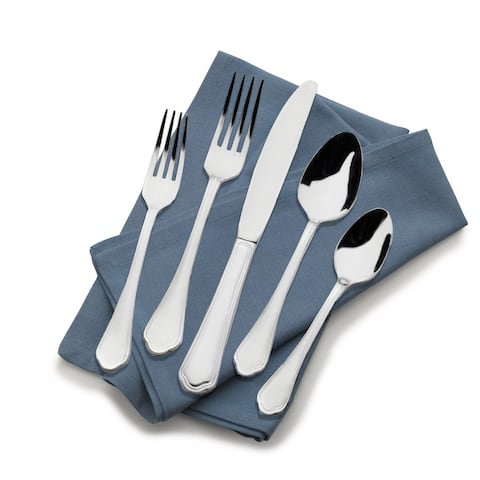 St. James Firenze 18/10 Stainless Steel 65 pc Flatware Set