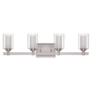 Craftmade 167274 Celeste 4 Light Bathroom Vanity Light   26.75 Inches Wide  (2 Options Available