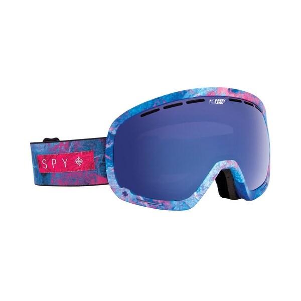 Spy Optic 313013152279 Marshall Snow Ski Goggles Purple Blue Spectra - marbled purple