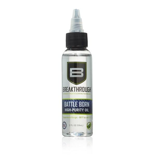 Breakthrough Advanced Firearm Cleaning Battle Born High-Purity Oil Twist Bottle