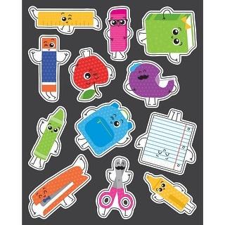 School Tools Shape Stickers Gr Pk-5