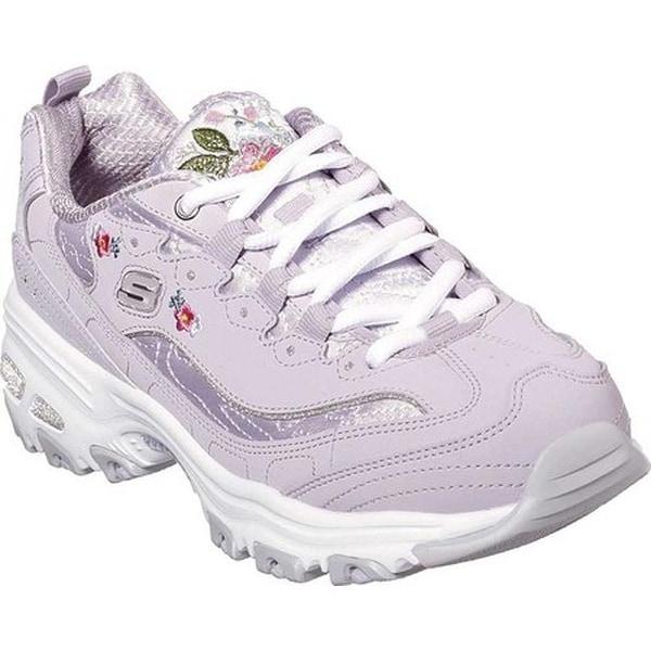 3213fdf6d69 Shop Skechers Women's D'Lites Bright Blossoms Sneaker Lavender ...