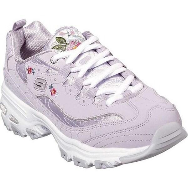 Shop Skechers Women's D'Lites Bright Blossoms Sneaker