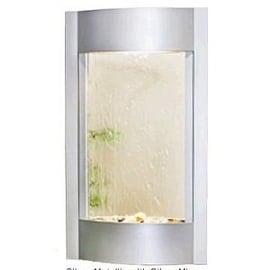 Adagio Serene Waters With Silver Mirror in Silver Metallic Finish Fountain