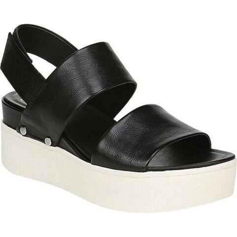 Sarto by Franco Sarto Women's Bermuda Platform Sandal Black Frida Leather