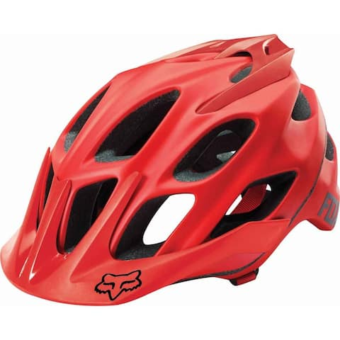 Fox Racing Flux Solids Helmet - 19317-003 - Red