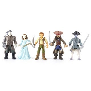 Pirates of the Caribbean 6037332.0 Dead Men Tell No Tales - Battle Figure 5-Pack - MultiColor