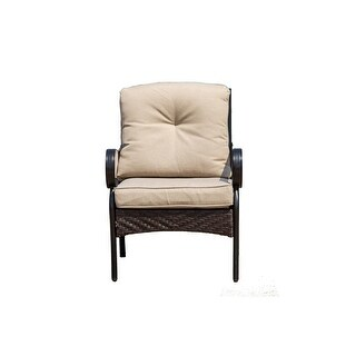 Link to 2-piece Indoor or Outdoor Patio Furniture Single Chair Similar Items in Outdoor Sofas, Chairs & Sectionals