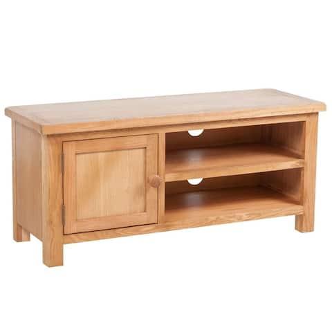 "vidaXL TV Cabinet Solid Oak Wood 40.6""x14.2""x18.1"""