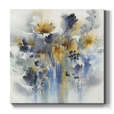 Indigo Botanical-Premium Gallery Wrapped Canvas - Ready to Hang