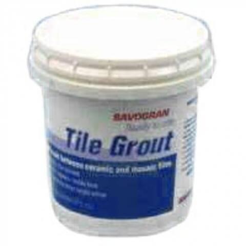 Savogran 12860 Readymix Tile Grout, 1/2 Pint