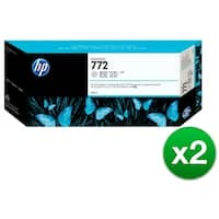 HP 772 300-ml Light Gray DesignJet Ink Cartridge (CN634A)(2-Pack)