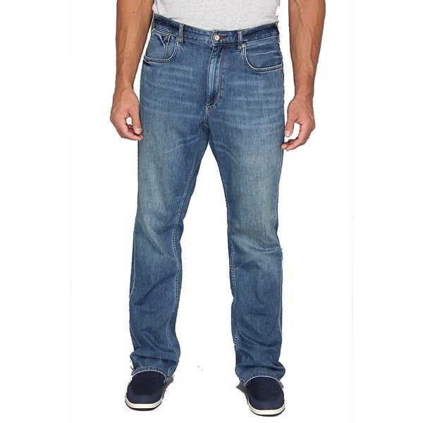 Tommy Bahama Men's Big & Tall New Cooper Authentic Jean, Medium Worn Wash, 50X34. Opens flyout.